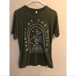 Panic! At the disco tour merch T-shirt